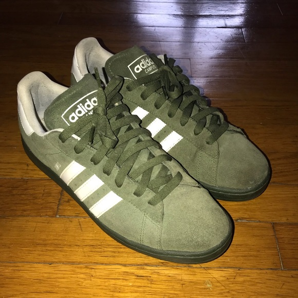 f994320ecabf6 adidas Other - Adidas Campus 10.5 olive green